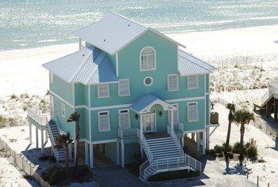 Dream beach home. Follow your dreams.