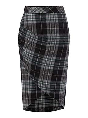 house of fraser may be my new favorite british retailer. the brits just get the perfection of pencil skirts and peplums. kalika check skirt, 60.