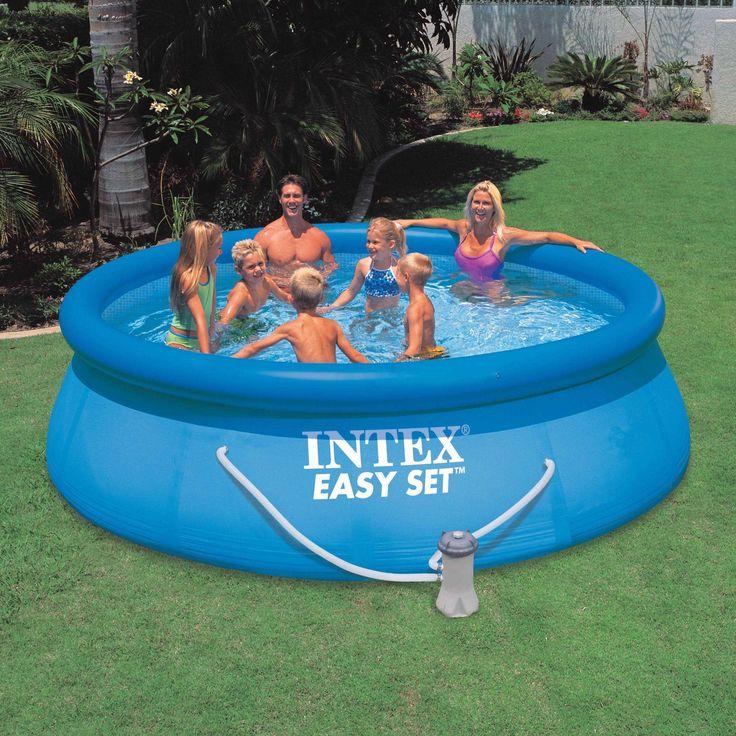 "Intex 12' x 36"" Easy Set Pool w/ Cartridge Filter Pump"