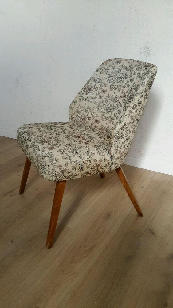 50er Jahre Sessel Halbsessel Hellerauer Stuhl Landhaus Stil Rockabilly