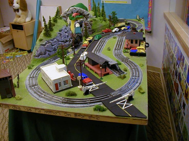 MINI-THINGS 3' X 6' O SCALE PHOTO GALLERY Very basic O ...