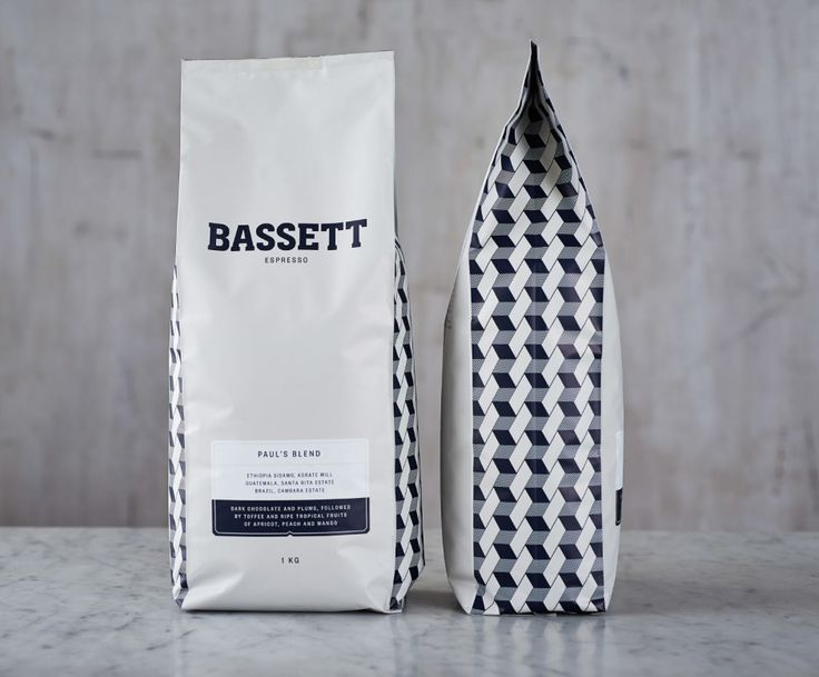 Bassett Espresso packaging by SquadInk