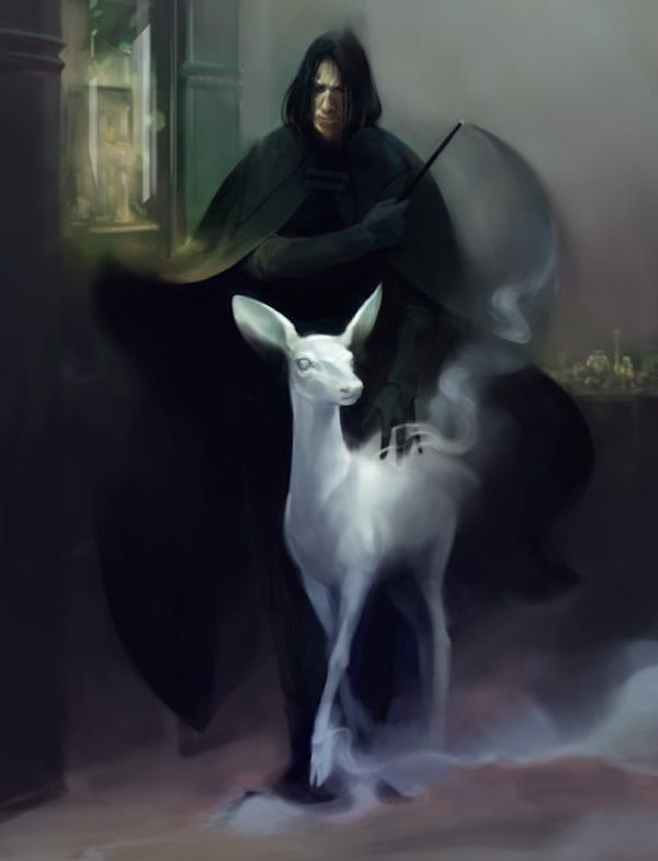 Artists Create Beautiful Works That Pay Homage To The Late Alan Rickman - DesignTAXI.com
