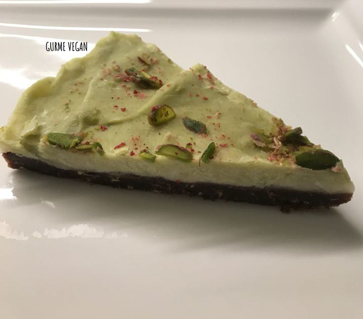 raw vegan cake limely avocado