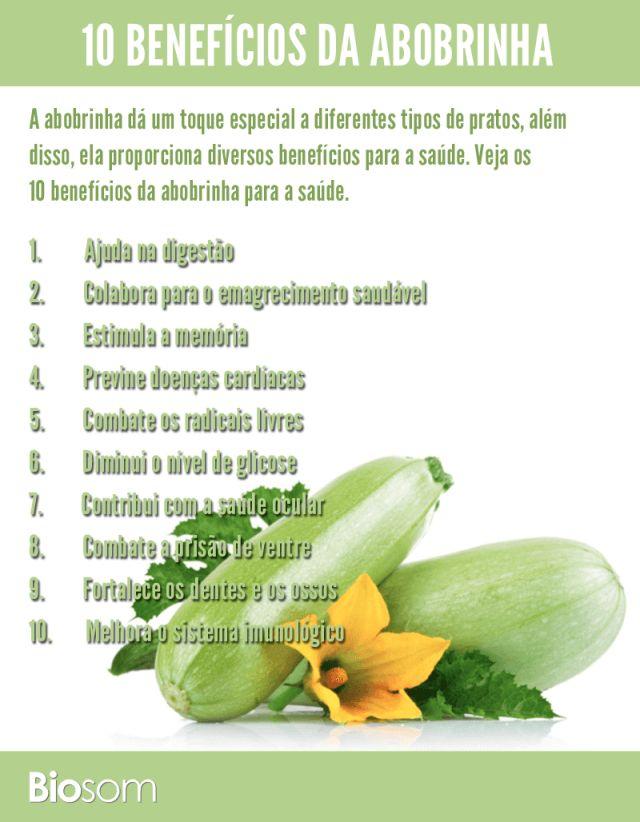 Clique na imagem para ver os 10 benefícios incríveis da abobrinha para saúde #abobrinha #verdura #bemestar #vitamina #saúde #benefícios #infográfico