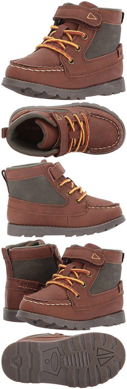Carter's Boys' Bradford Fashion Boot, Brown, 7 M US Toddler