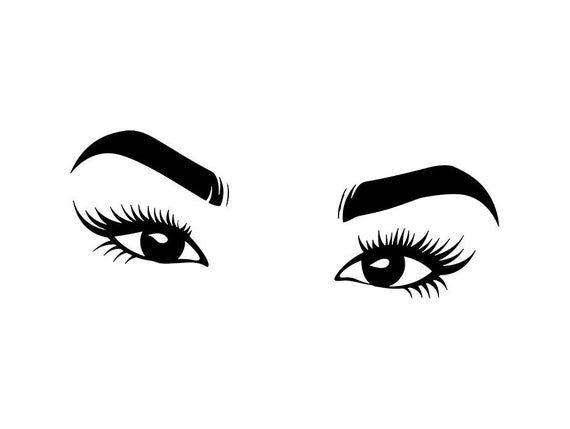 Female Eye Vision Svg Human Lady Make Up Sign Eyeball See Etsy In 2021 Female Eyes Eye Drawing Eyes Clipart