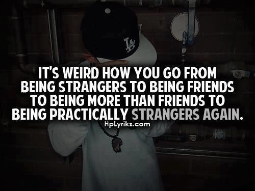 Strangers again & again..