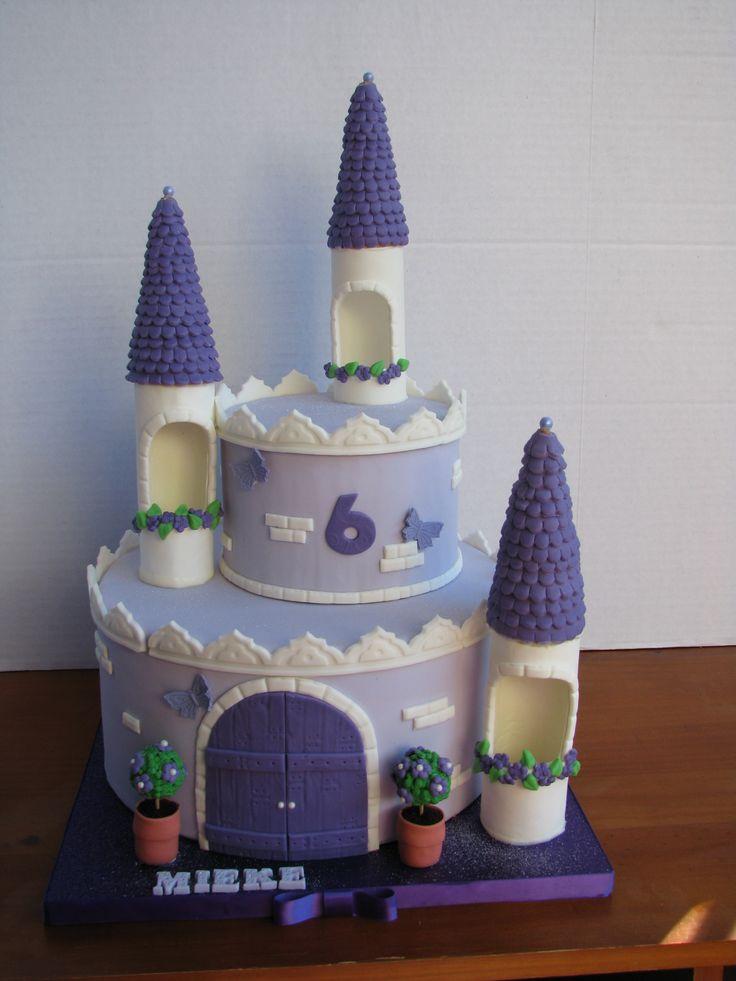 44 best princess castle cakes images on pinterest | princess