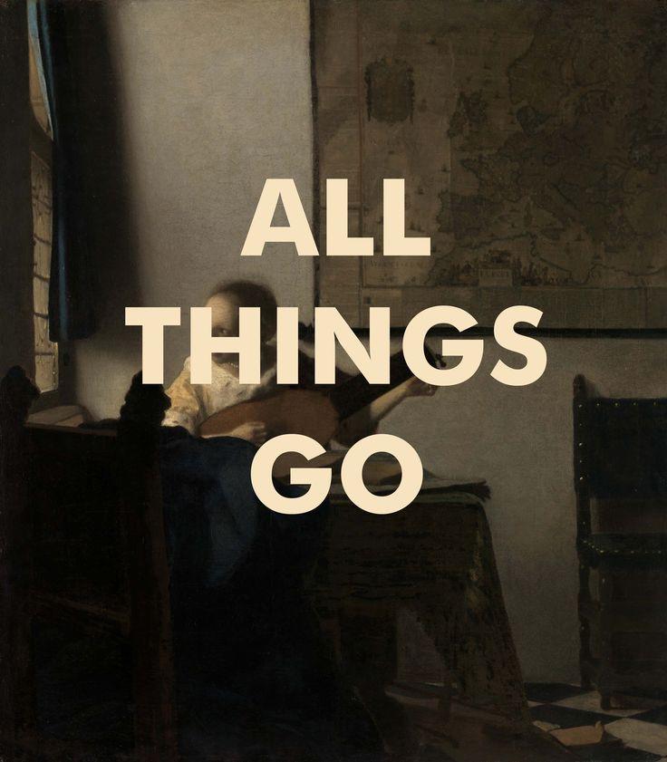 ALL THINGS GO Print, Sufjan Stevens Lyrics Print, Chicago ...