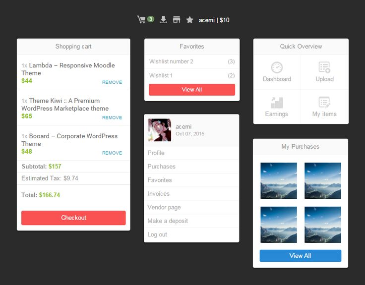 Upcoming Feature :: Topbar dropdown menu for our WP Marketplace Theme. https://goo.gl/NVpl1H & http://goo.gl/REzdj3 #wordpress #webdesign