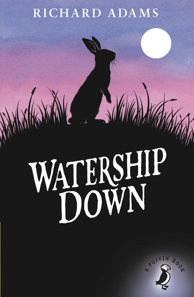 Watership Down by Richard Adams  One of the most famous animal adventures ever, Richard Adams's Watership Down has been a worldwide bestseller for more than forty years. An epic and stirring tale, Watership Down focuses on a group of rabbits who possess their own language, culture and proverbs. After receiving a disturbing vision, the group must traverse across the English countryside to safety, and ultimately  - survival.