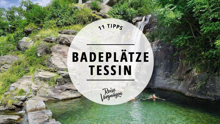 Kleine Buchten Versteckte Naturpools Rauschende Wasserfallen Ruhige Flussen Und Einsame Seen Hier Findest Du Die Sc Urlaub Schweiz Tessin Grune Landschaft