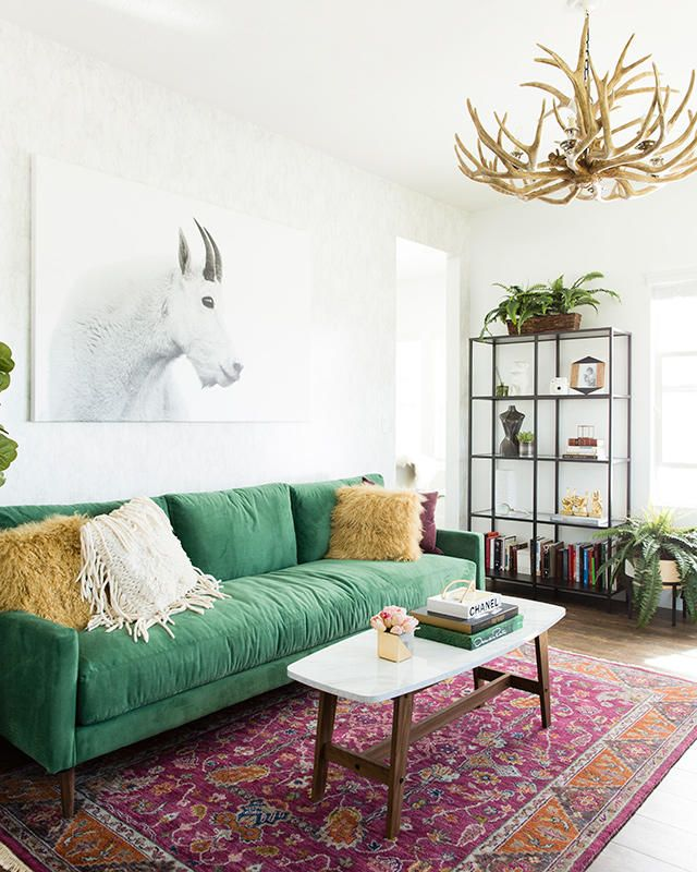 25 Inspirations Showcasing Hot Home Office Trends: Best 25+ Green Couch Decor Ideas On Pinterest