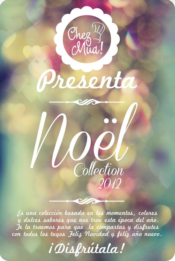 Bienvenido - Bienvenue - Welcome - Noël collectio 2012 Chez Mua.