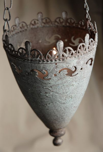 """7"""" Viserys Hanging Metal Candle Holders $9.49 each / 3 for $8 each"""