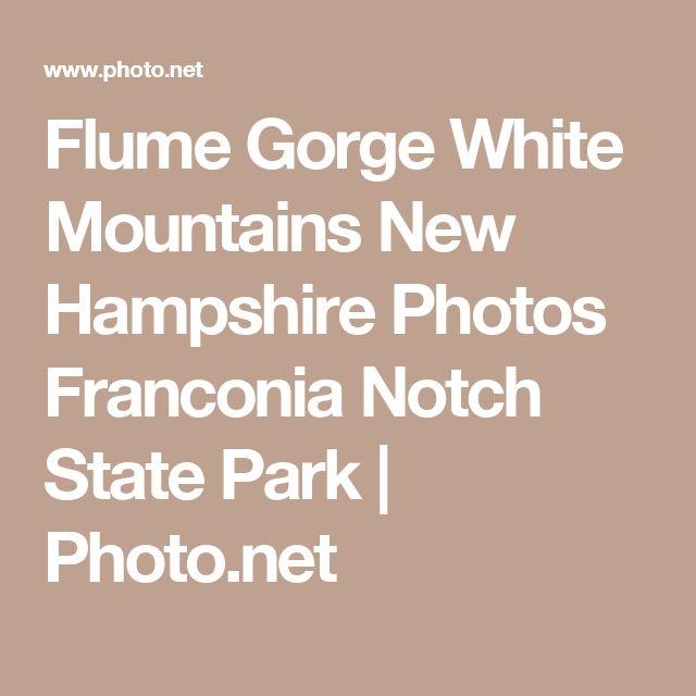 Flume Gorge White Mountains New Hampshire Photos Franconia Notch State Park   Photo.net