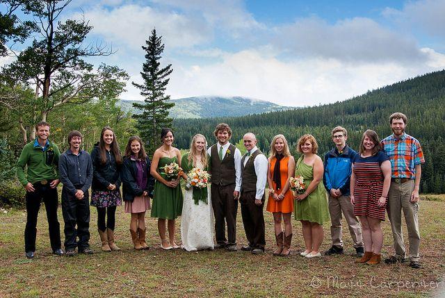 Mountain wedding guest attire photo matt carpenter a for Casual mountain wedding dresses