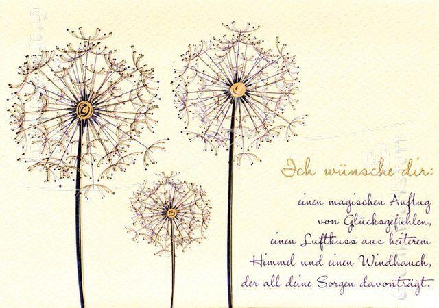 Ber ideen zu pusteblume spruch auf pinterest - Pusteblume basteln ...