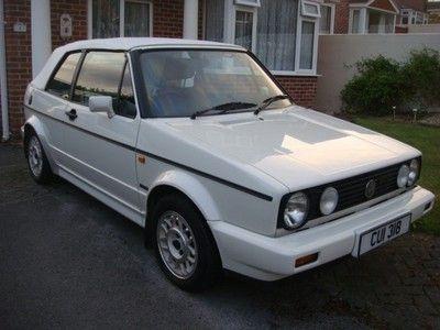 1989 volkswagen golf 1 8 gti cabriolet convertible cab. Black Bedroom Furniture Sets. Home Design Ideas