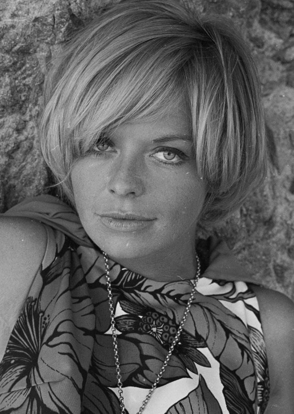 Susannah York on the set of Duffy, 1967; photo by Patrick Litchfield