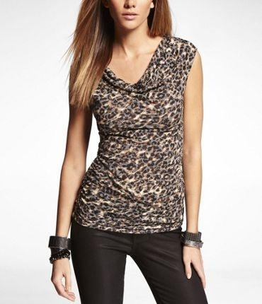 Women's Tops & Tees: Shop Hot Fashion Tops from Express: Tees, Expressjeans, Jungle, Cheetah Drape, Fashion Tops, Express Jeans, Jeans Dream
