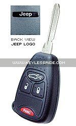 Keyless Entry Remote Fob Clicker for 2006 Jeep Liberty (Must be programmed by Jeep dealer) Must be programmed by Jeep dealer. Dimensions: 1.85 X 1.6 X .5. Weight: 8 oz. Warranty: 1-year. Satisfaction Guarantee: 30 day No Hassle Return Policy.  #Jeep #Automotive_Parts_and_Accessories