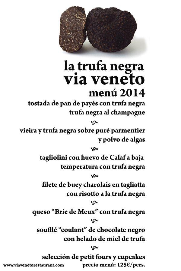 Via Veneto Restaurant Barcelona Menu