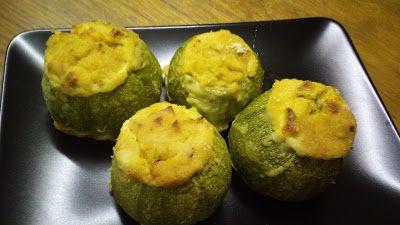 cucina di casa: zucchine tonde ripiene