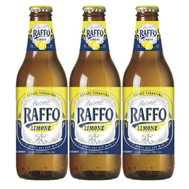 BIRRA RAFFO LIMONE BOTTIGLIA 3X33 CL  (078098)