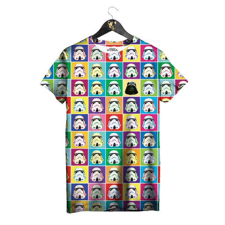 Color Trooper T-shirt by Golden Hyena  #goldenhyena