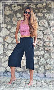 Black Jupe Culotte-Red Bustier ~Summer Style~ Badila Fashion Spring-Summer '15