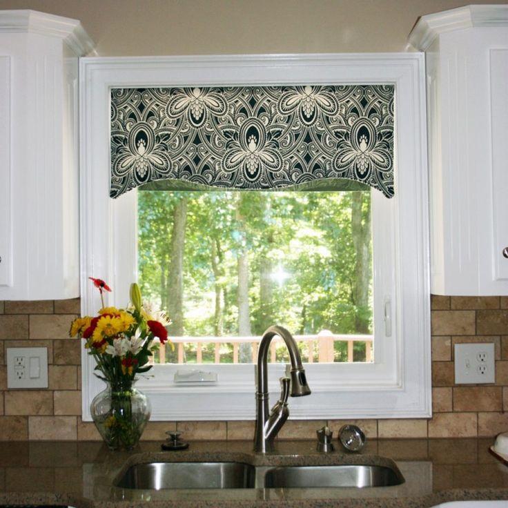Kitchen Window Wood Valance Ideas: Best 10+ Kitchen Window Valances Ideas On Pinterest