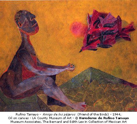 Rufino Tamayo - Amigo de los pajaros