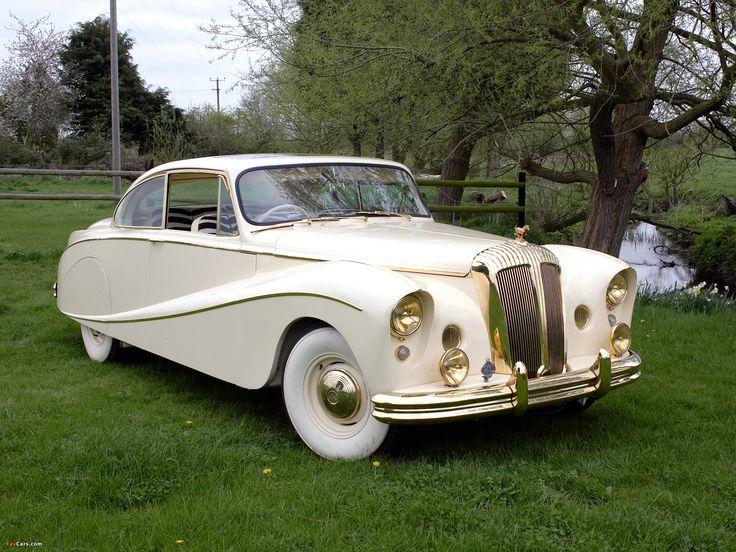 1955 Daimler DK 400A Golden Zebra coupe by Hooper