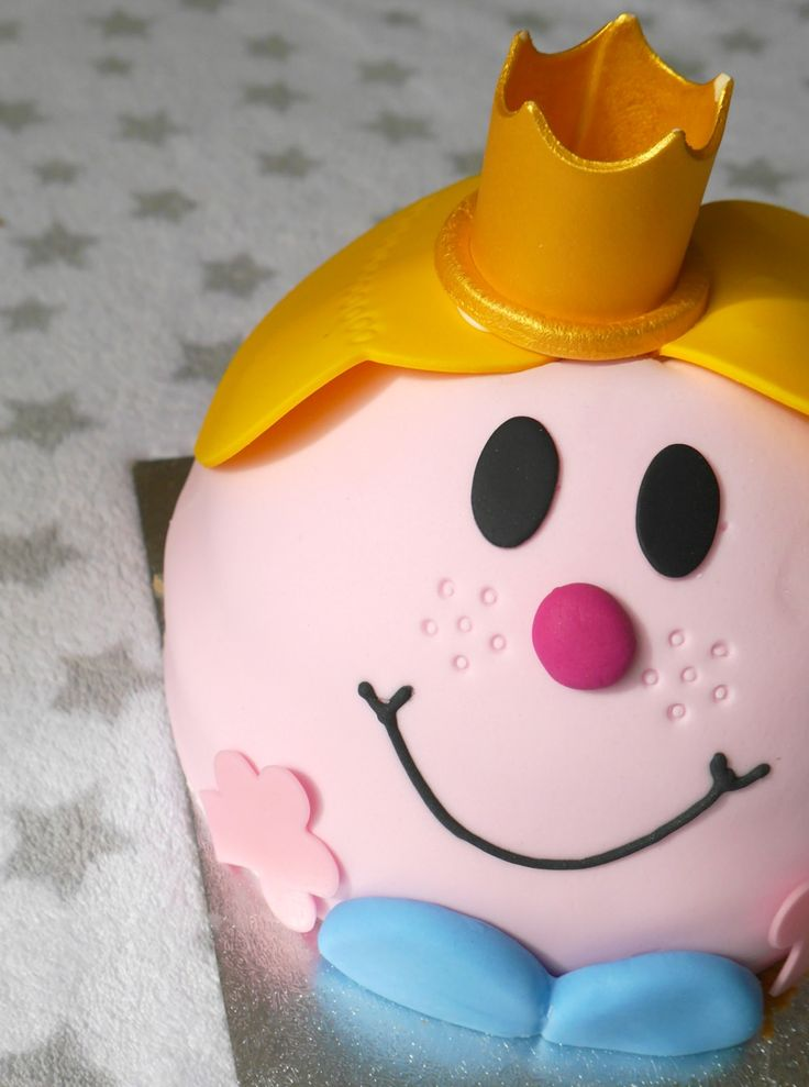 Best Mr Men And Little Miss Birthday Party MrMenBirthday - Little miss birthday cake