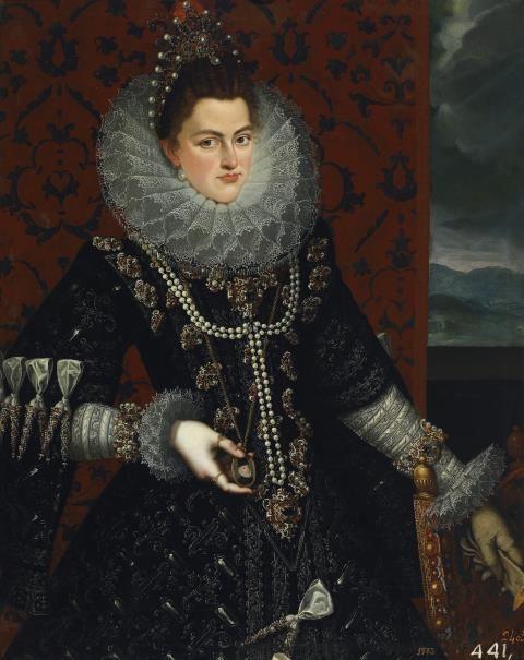 La infanta Isabel Clara Eugenia - Colección - Museo Nacional del Prado