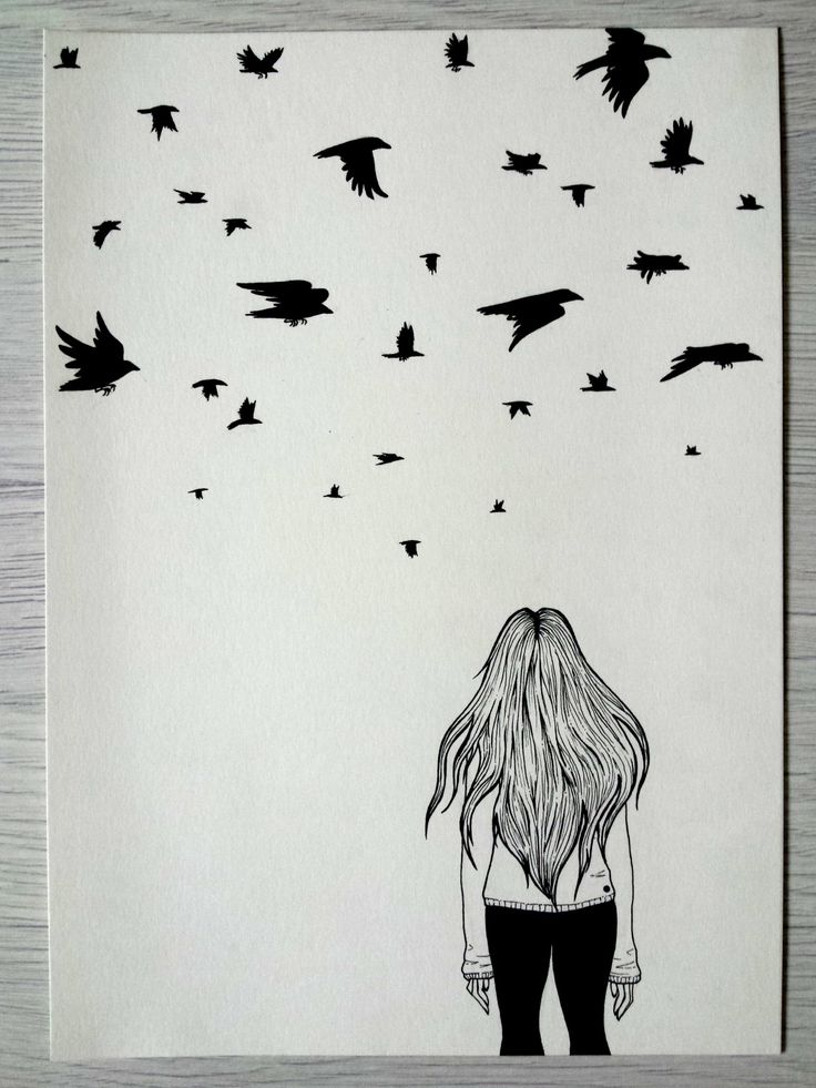 Crows When I was a little girl, every day around 5 O'clock a flock of birds would pass by my window. I would stop doing my homework and just watch them fly. It was a relaxing thing but I don't really know why. In any case, years have passed and...