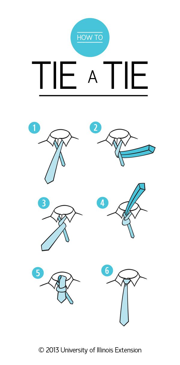 How to Tie a Tie (Pin now for future interviews!)