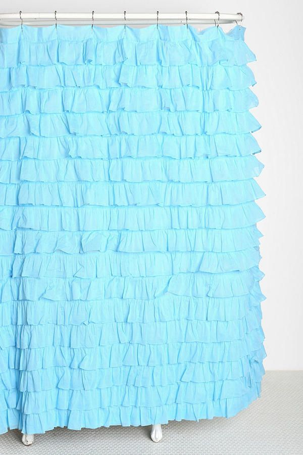 Shop Waterfall Ruffle Shower Curtain At Urban Outfitters Today.