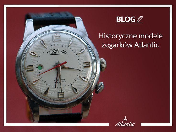 Zobaczcie na naszym blogu jakie piękne modele zegarków prezentowała marka Atlantic w latach 30-60. Na zdjęciu Atlantic Memoric z budzikiem.