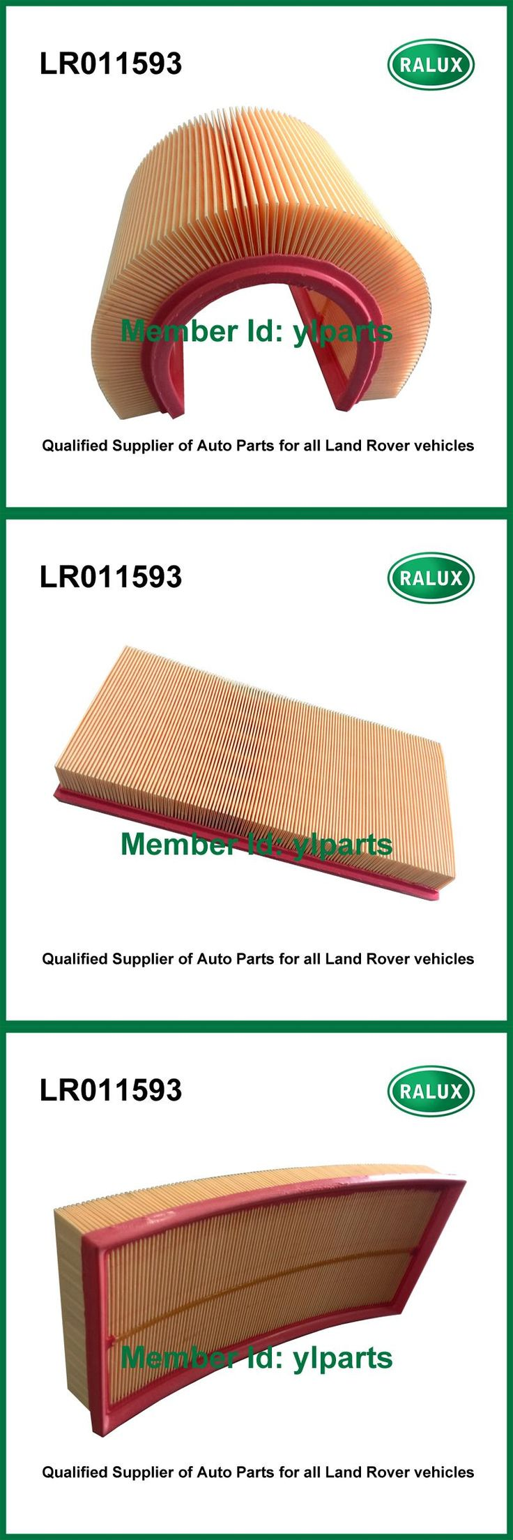 [Visit to Buy] LR011593 auto air filter for Land Range Rover Discovery 4 Land Range Rover Sport car air cleaner element filter 3.0L V6 petrol #Advertisement