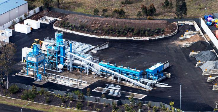 UltiMAP 1300 in Australia. Read more on: http://bit.ly/2aDZUZy #marini #fayatgroup #australia #asphaltplant #roadequipment