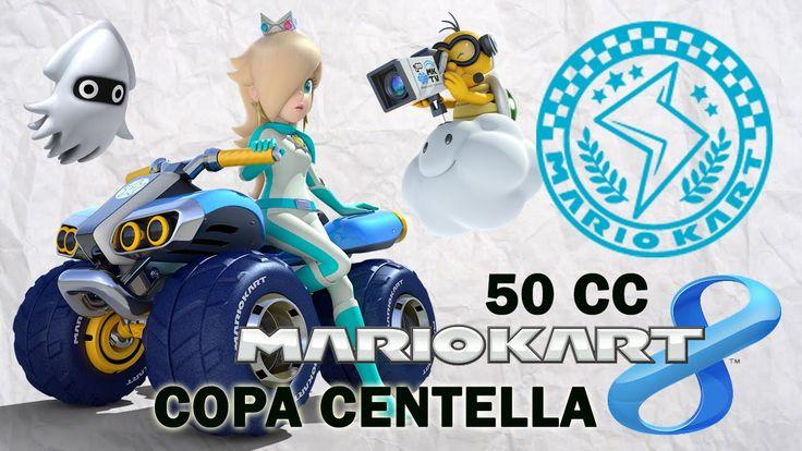 Mario Kart 8 Copa Centella - En español jugando con Rosalina. Gameplay de Mario Kart 8 para Wii U jugando con Rosalina, en 50 CC. Visita mi sitio web: http://www.adverglitch.com