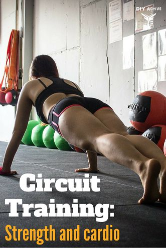 Circuit Training: Strength and cardio via @DIYActiveHQ #fitness #circuittraining #weightloss