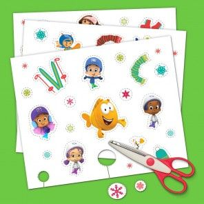 A Snowy Sticker Fest with Nick Jr.