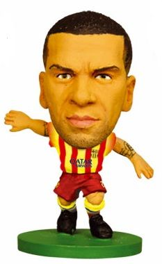 SoccerStarz 2013/14 - Barcelona - Dani Alves (Away)