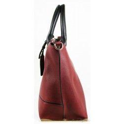 LYDC London - Handtasche Weinrot
