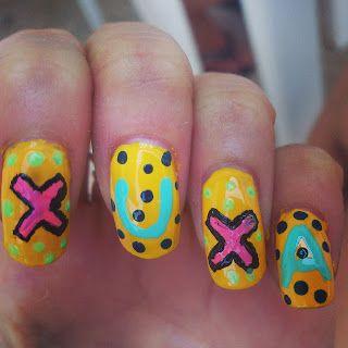 Manicura Xuxa Nail art