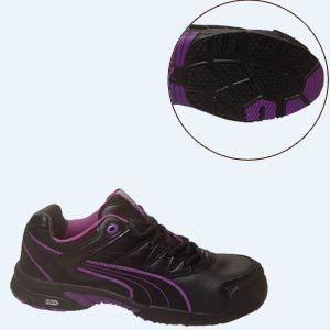 puma shoes purple and black. #puma - puma 642885 #women\u0027s stepper low black/purple shoes purple and black m